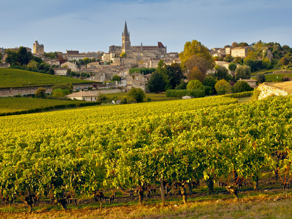 Saint-Émilion was named after a monk, whose disciples commercially produced wine in the region. Photo by: Tim Graham/Contributor/Getty Images News/Getty Images