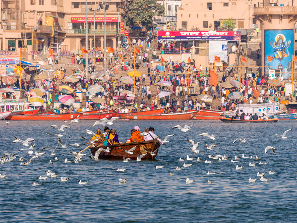 Varanasi. Photo by Frank Bienewald/Contributor/LightRocket/Getty Images.