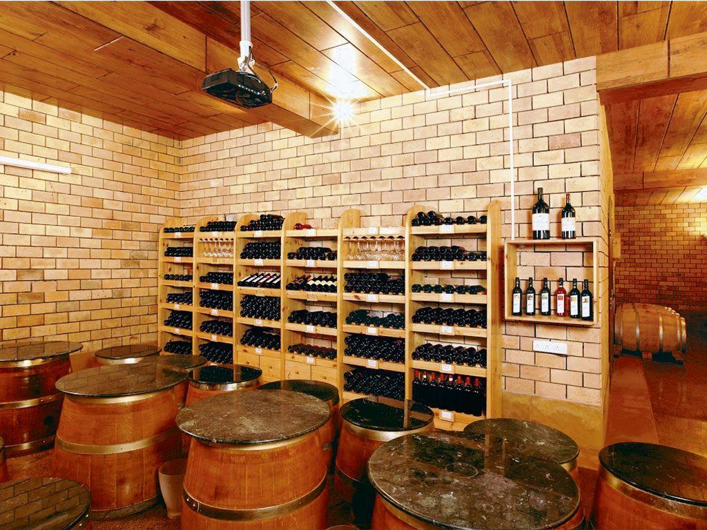 At Grover Zampa, following competent practices, wooden barrels are used for red wines, which lend a woody, smoky flavour. Photo courtesy: Grover Zampa Vineyards