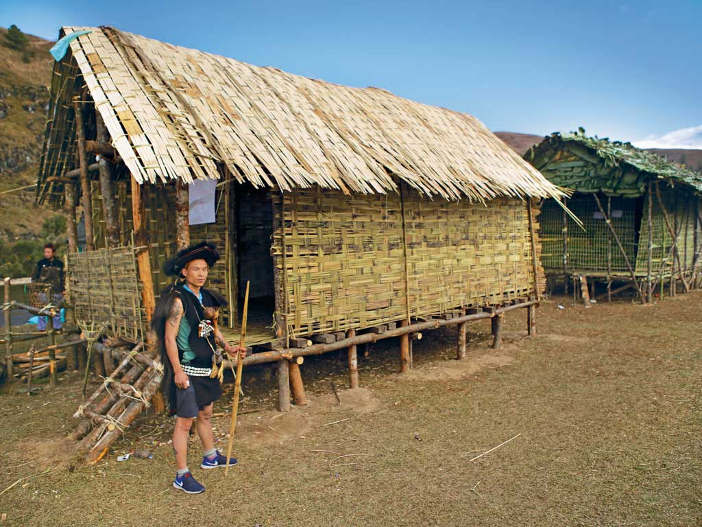At the Adventure@Menchuka festival, organisers create replicas of local homes.