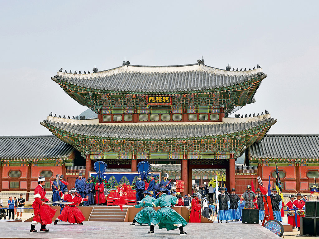 Gyeongbokgung Palace. Photo by Topic Images Inc./Topic Images/Getty Images.