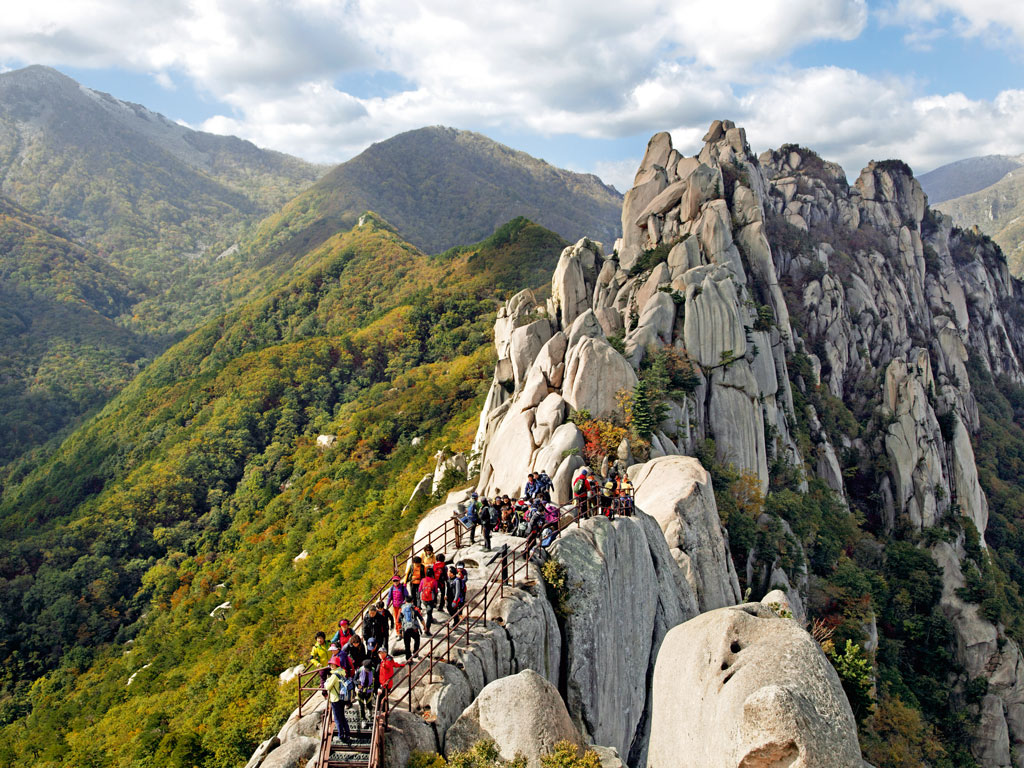 Seoraksan National Park. Photo by JTB Photo / Contributor/Universal Images Group/Getty Images.