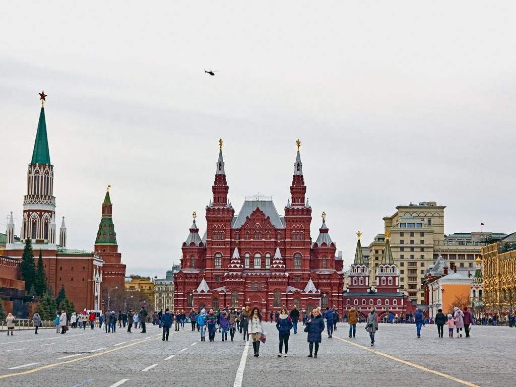Five Reasons to Visit Russia