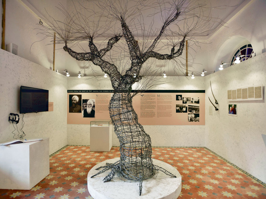 The Tree of Hope in the Partition Museum carries messages of peace. Photo by: Hindustan Times/contributor/Hinduatan Times/Getty Images