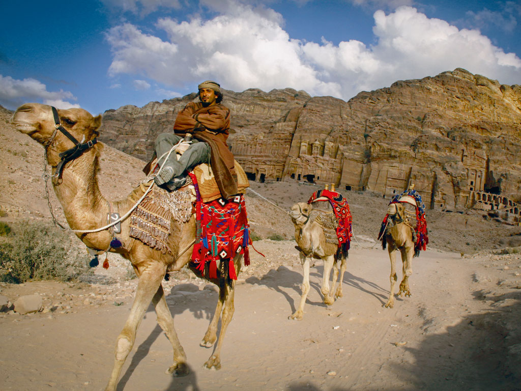 The Jordan Trail highlights the country's most scenic sights. Photo by Pascal Mannaerts.