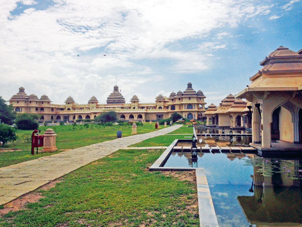 Evolve Back Kamalapura Palace's design is inspired by the historical ruins of Hampi. Photo by: Joanna Lobo