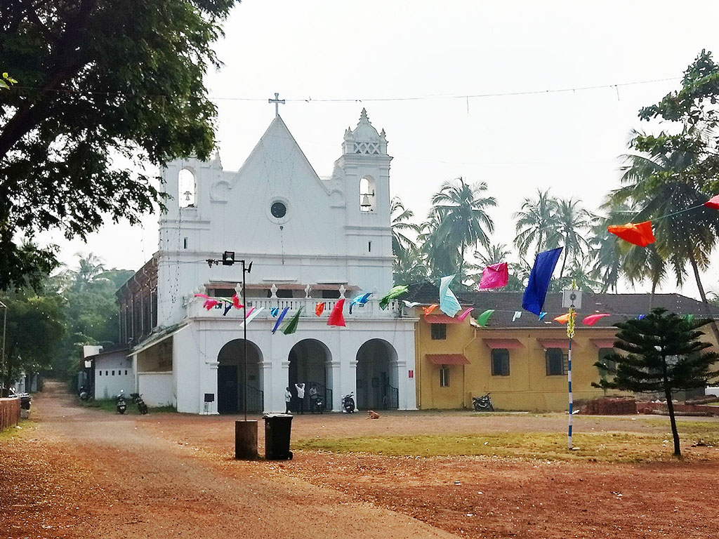 Held annually atop a hill at Our Lady of Remedios, the Goan Feast of Three Kings is celebrated with great pompous. Photo courtesy: Remedios Chruch