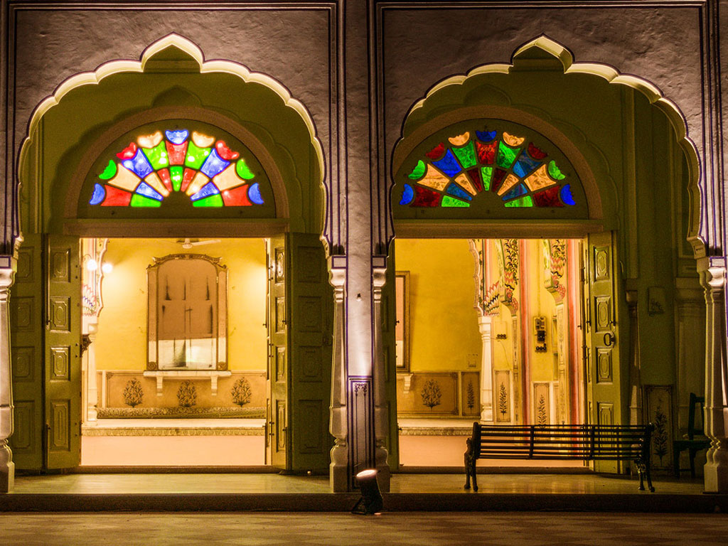 The palatial Hotel Diggi Palace serves as a venue for the much awaited Jaipur Literature Festival. Photo Courtesy: Hotel Diggi Palace