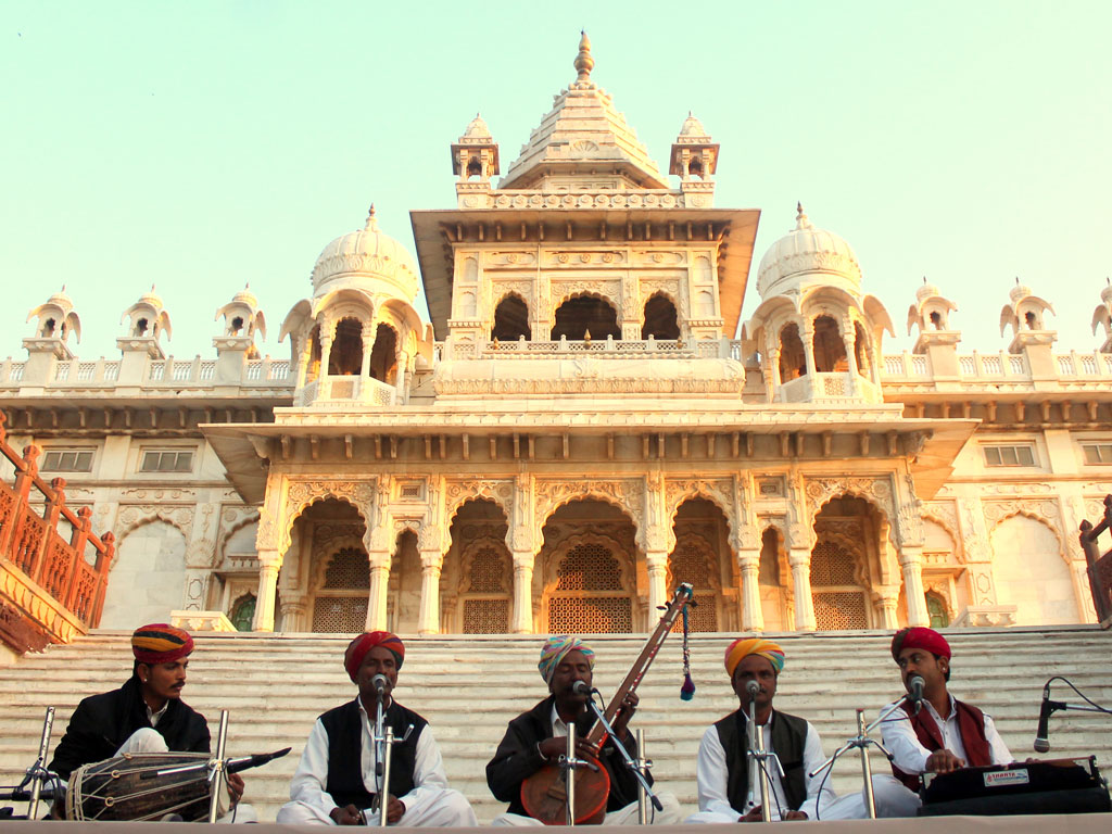 Sufism transcends borders as folk musicians from India and other countries gather in Jodhpur's Mehrangarh Fort. Photo courtesy: Mehrangarh Museum Trust