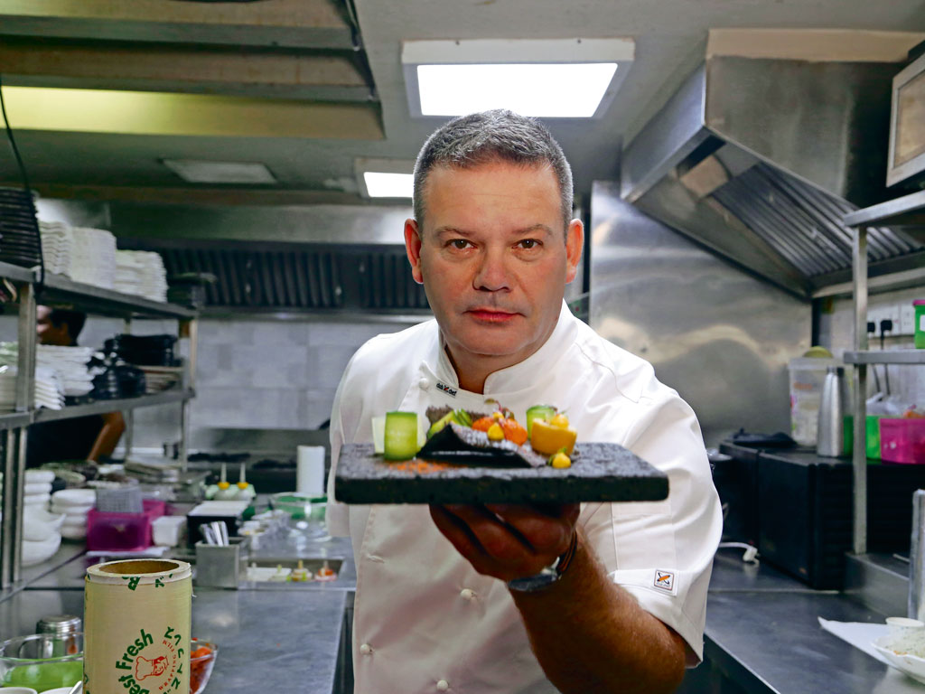 In his new show, Masters of Taste with Gary Mehigan, the chef explores India's culinary diversity through tastings with pioneering chefs and foodies. Photo courtesy: Foxlife