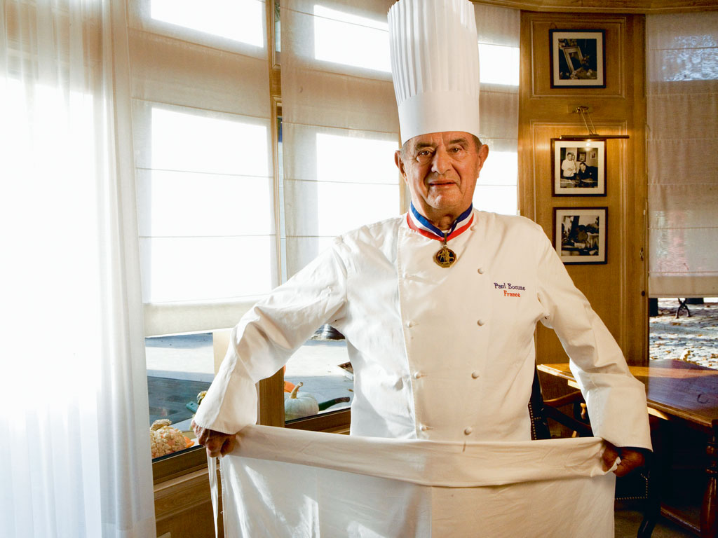 Late chef Paul Bocuse at one of his restaurants in Lyon. Photo by: Maurice Rougemont/Contributor/gamma-rapho/Getty Images
