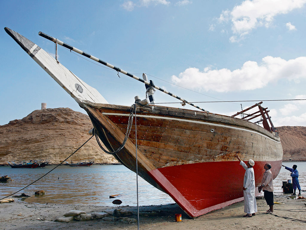Dhows have been built in Sur for over 1,000 years. Photo by: Paule Seux/Getty Images