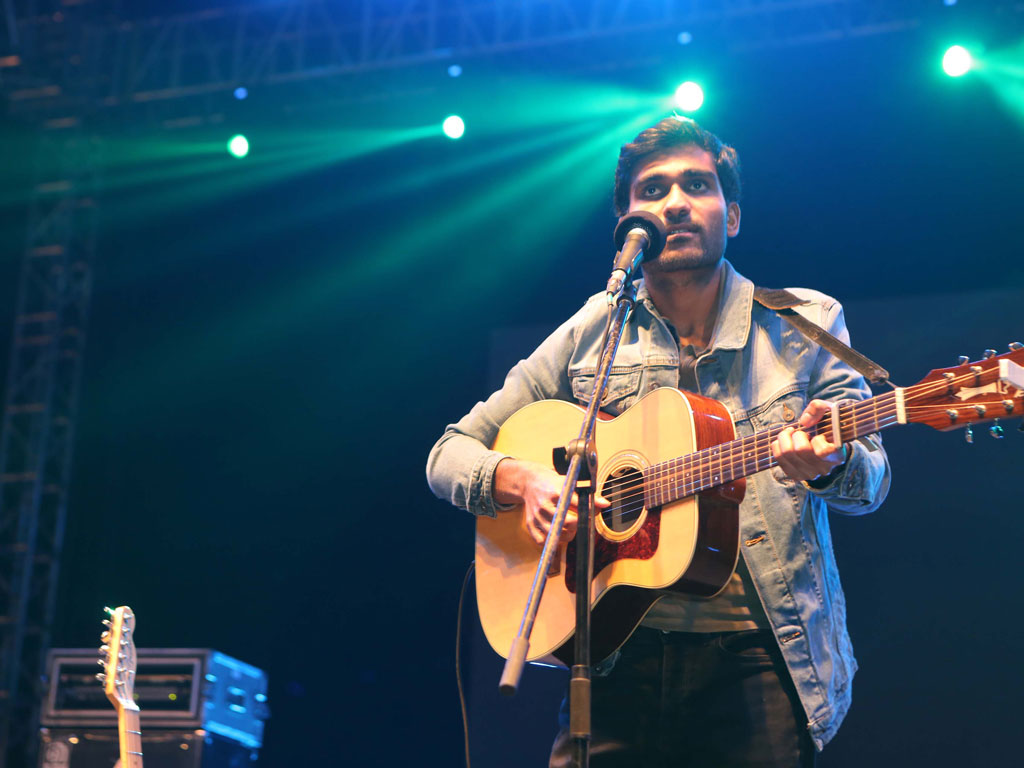 Prateek Kuhad dazzles in the artiste line-up along with a few other musicians set to perform at Backdoors 2018 in Mumbai and Bengaluru. Photo by: Hindustan Times/Contributor/Getty Images