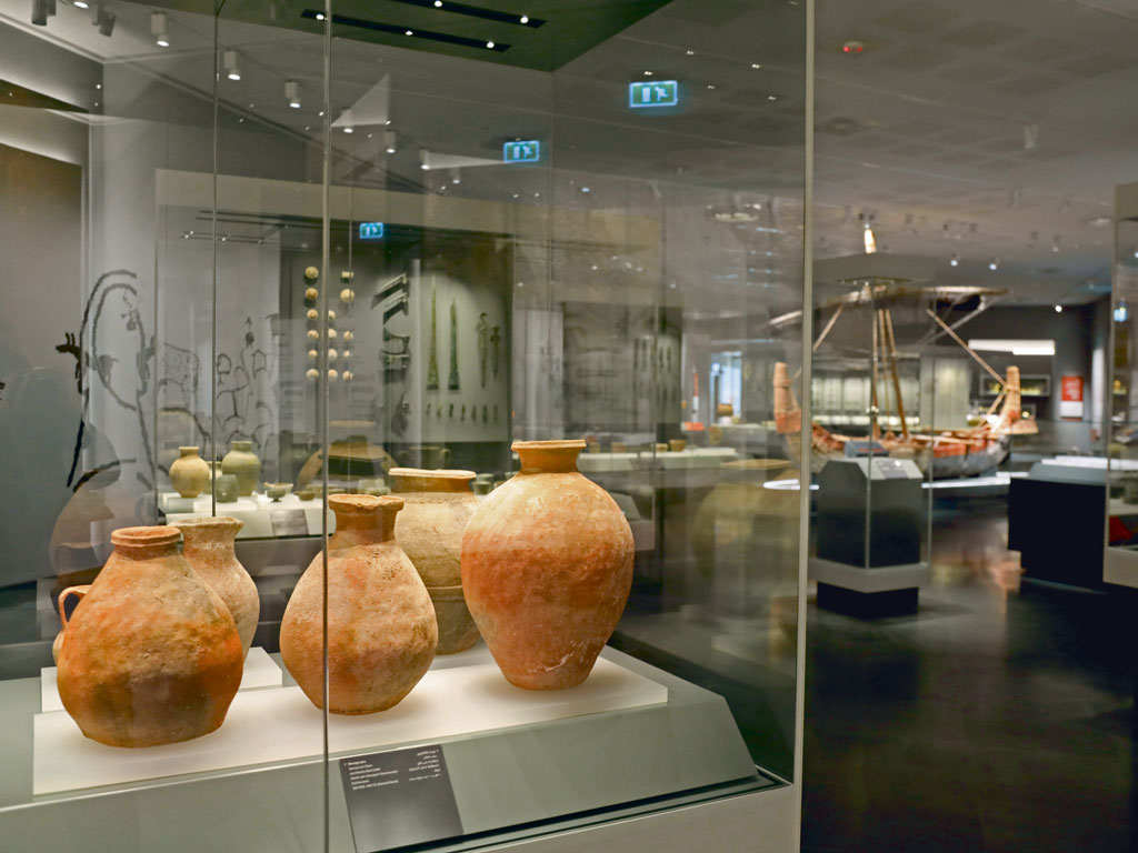 Muscat's National Museum has large sections dedicated to Oman's maritime history. Photo by: Pacific Press/Contributor/Getty Images