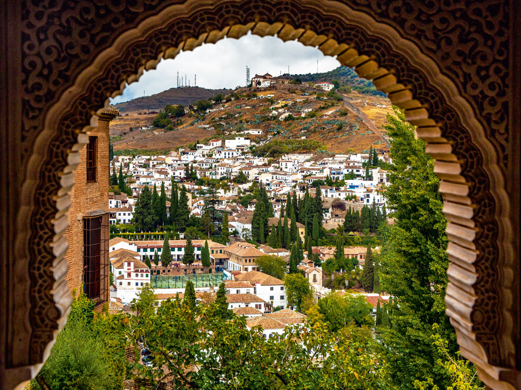 The fortress palace complex of Alhambra. Photo by: Gonzalo Azumendi/Photolibrary/Getty Images