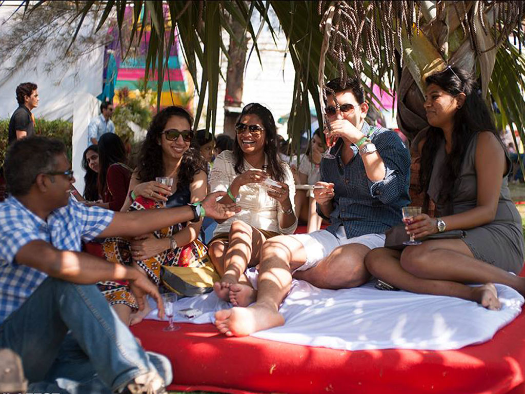 Sip on wine and revel in music at the Sula Fest in Nashik. Photo courtesy: Sula Fest
