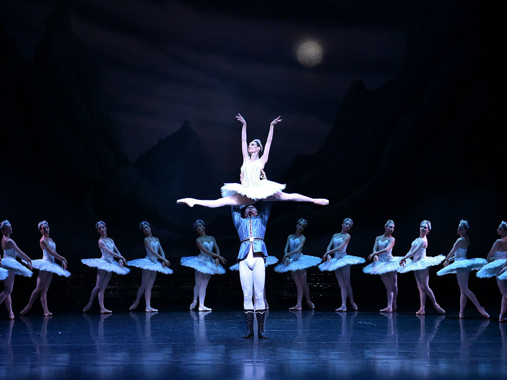 The sheer scale of Swan Lake, Tchaikovsky's iconic Russian ballet, is awe-inspiring. Photo by: Saeed Khan/Staff/AFP/Getty Images