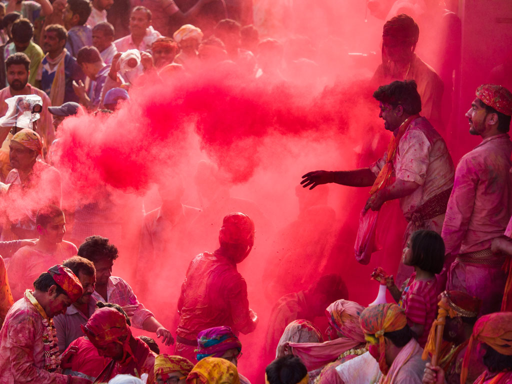 In Photos | True Colours of Tradition in Mathura and Vrindavan's Holi