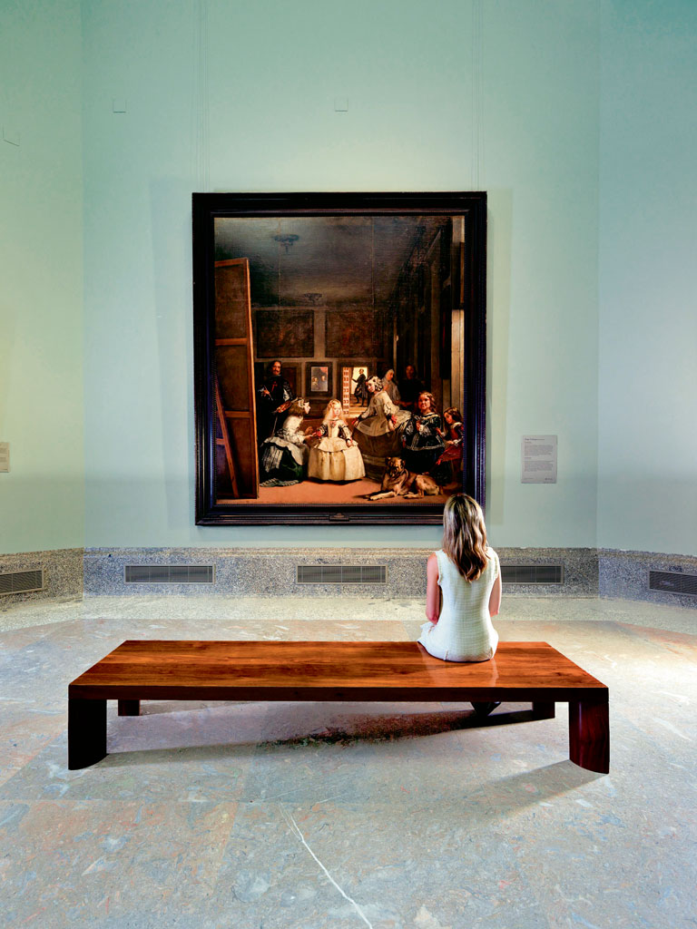 "Diego Velásquez's ""Las Meninas"" is among the most significant pieces in the collection of the Prado museum. Photo Courtesy: Madrid Destino Cultura Turismo Y Negocio, S.A. available at www.esmadrid.com"