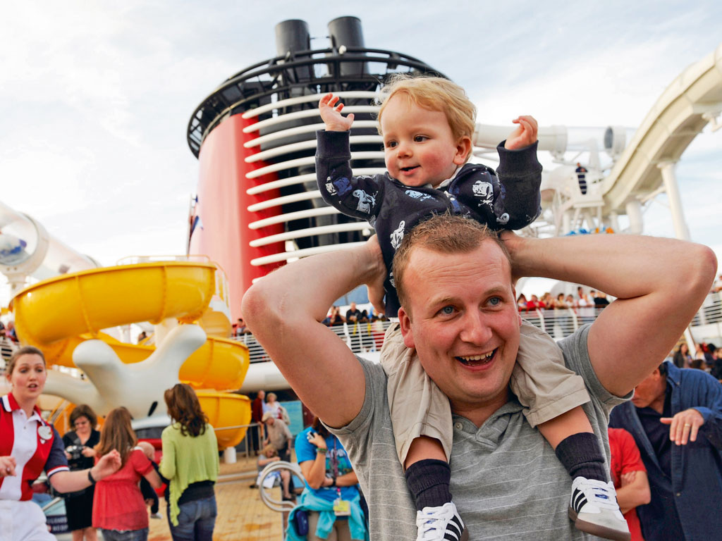 There is something for all ages aboard the Disney Dream, including pools, and nurseries for children as young as six months. Photo Courtesy: Disney Cruise Line