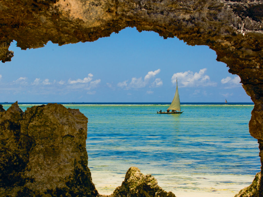 Dhows dotting Zanzibar's waters are built in the Nungwi area. Photo by: Danm/Getty Images
