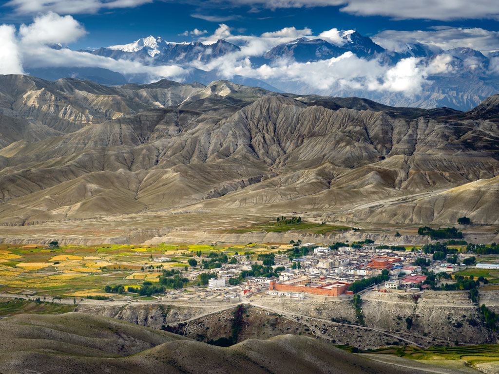Lo Manthang is often considered as one of the world's best preserved medieval fortresses