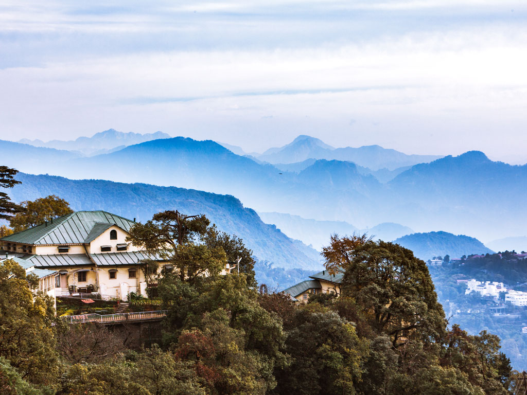The oldest structures in Mussoorie and the military town of Landour date back to the late 1800s and lend a distinctive colonial charm to the hill stations. Photo by Himanshu Khagta/ Getty Images