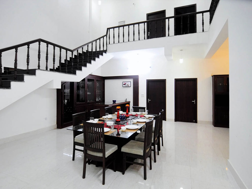 Riverside Villa, located in a residential area called Nirmal Block, is ideal for larger groups. Photo Courtesy: Riverside Villa