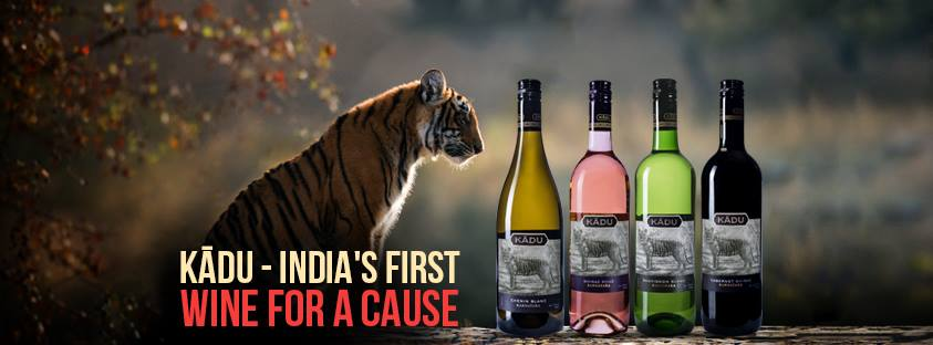 With each bottle sold, Kādu will contribute towards tiger conservation in Karnataka.