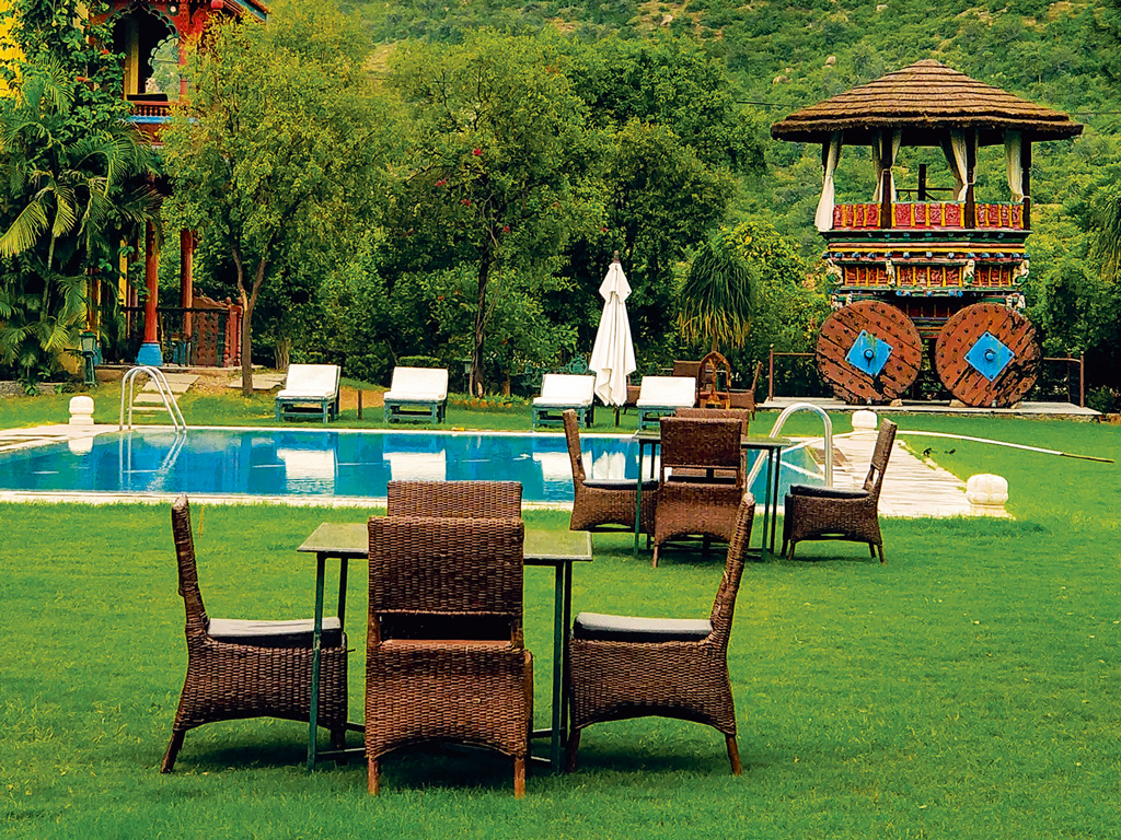 Rajasthan Getaway: The Royal Retreat Resort and Spa Cocoons Luxury in Art 1