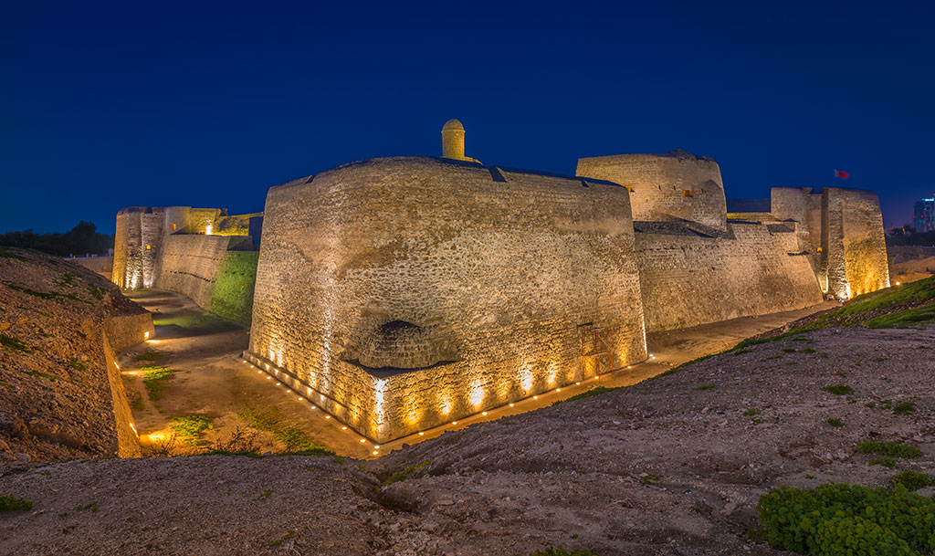 The Bahrain Fort. Photo Courtesy: Bahrain Tourism