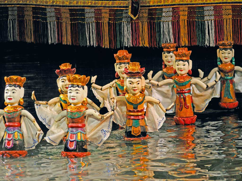 Of Lakes, Lore and Vietnamese Puppets