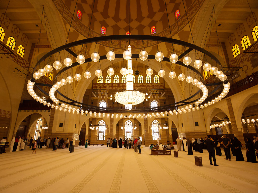 In the Grand Design of Bahrain's Biggest Mosque 2