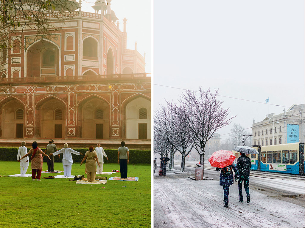 Delhi Or Sweden: Who's Got More Chill?