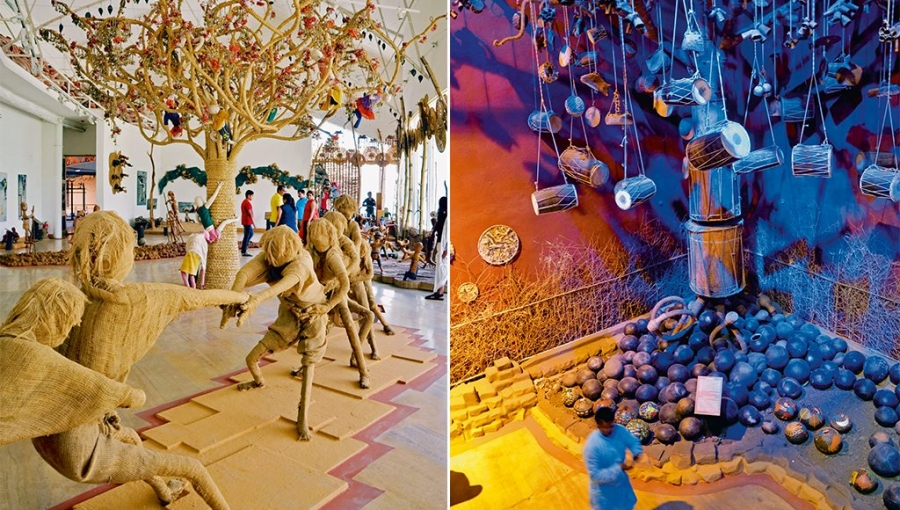 Lessons in Tribal Aesthetics: Inside Bhopal's Tribal Museum
