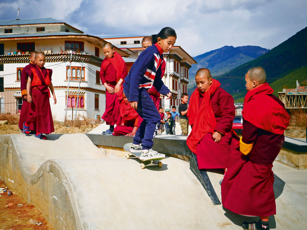 Bhutan's Young Surf a New Turf 1