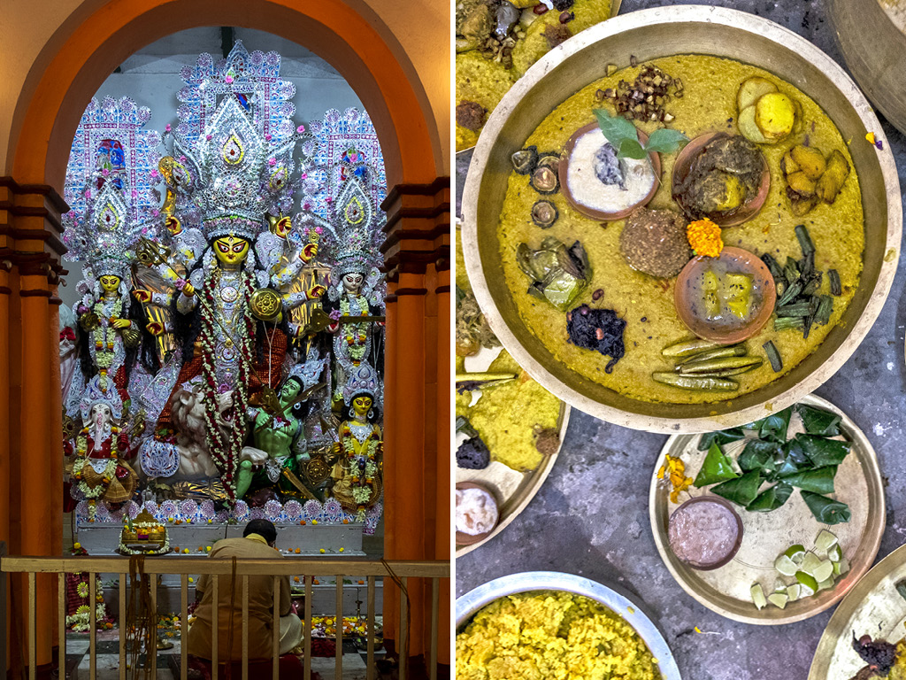 The Sceptic's Guide to a Vegetarian Durga Puja