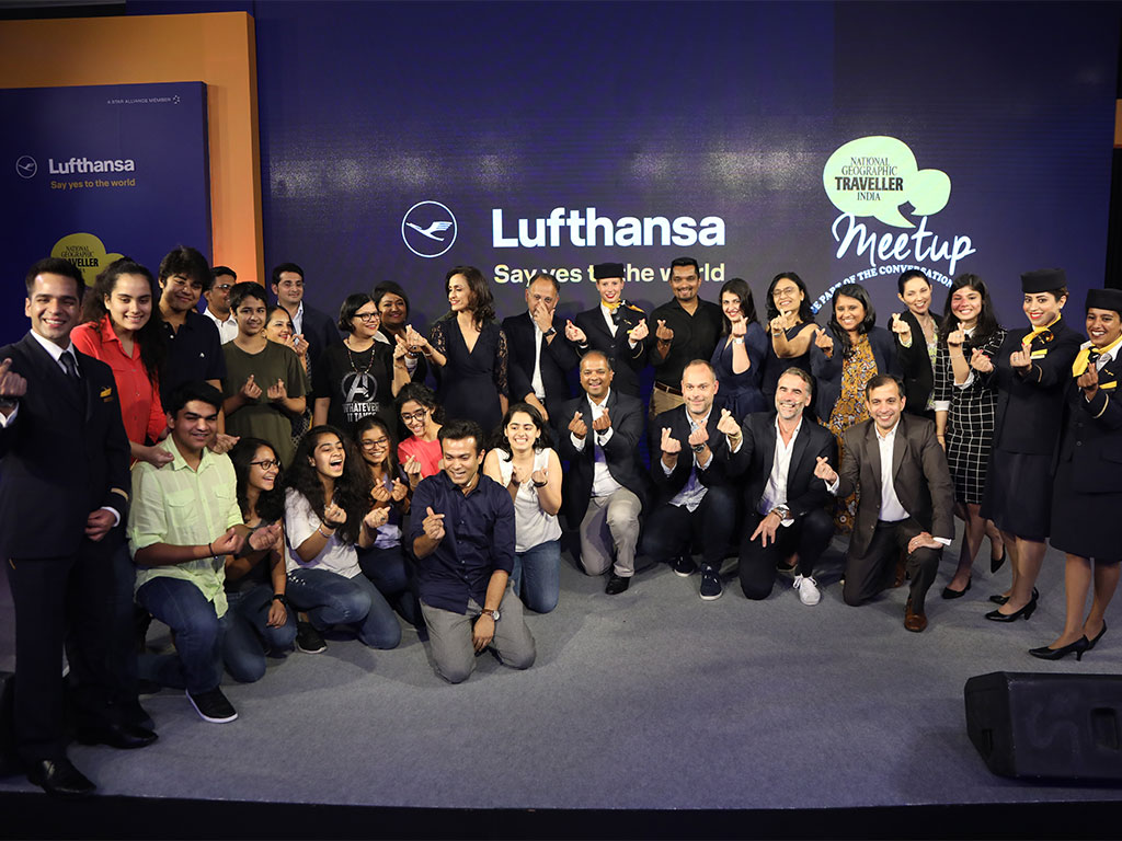 Sponsored | National Geographic Traveller India hosts the #LifeChangingPlaces Meetup in collaboration with Lufthansa