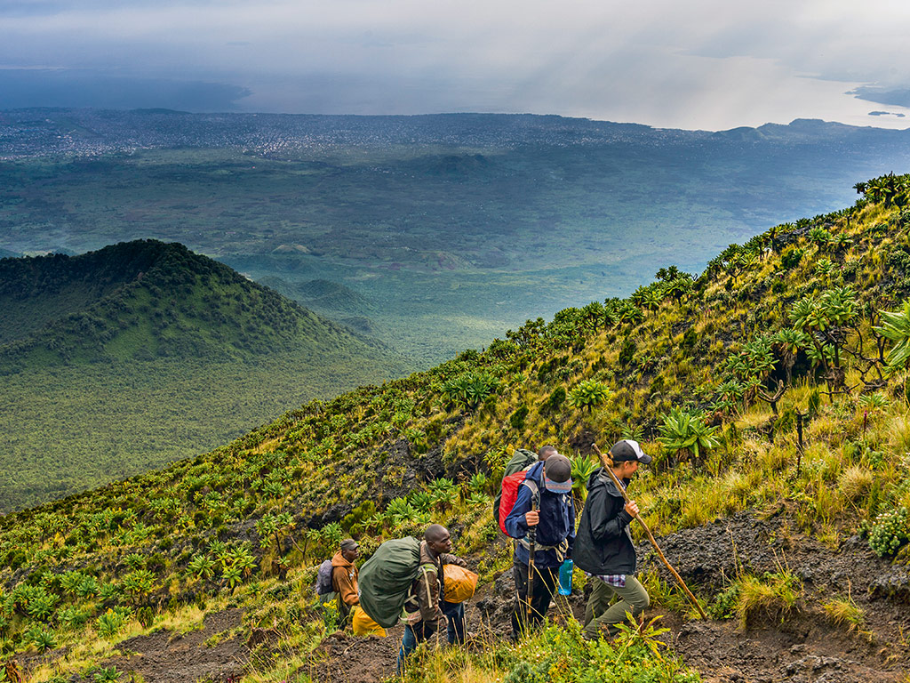 Hiking a Volcanic Mountain in Congo 3