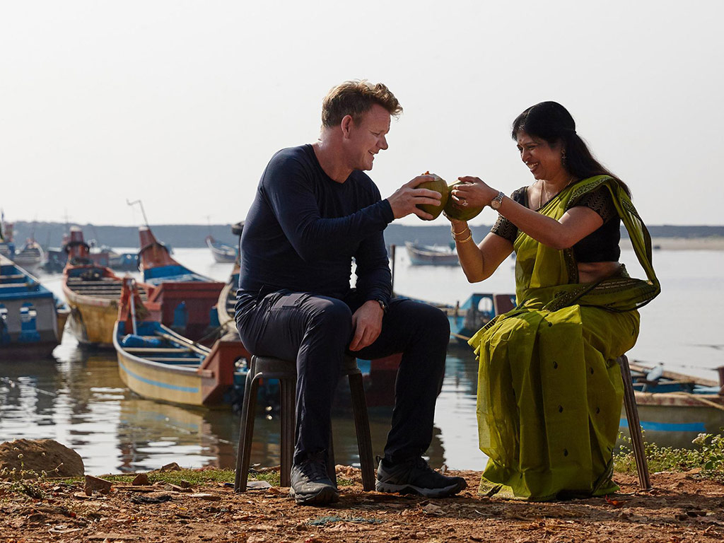 How to Cook a Piranha? Gordon Ramsay on Skills He Learned, Making Travel TV