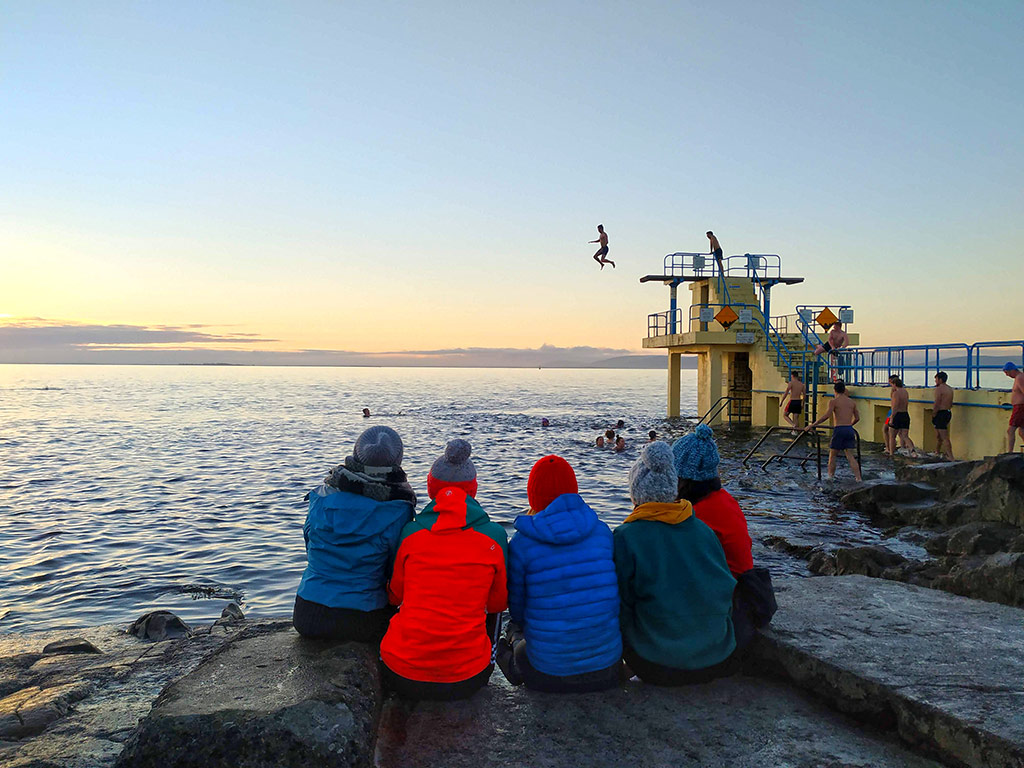 In Salthill, Sea's The Word 1