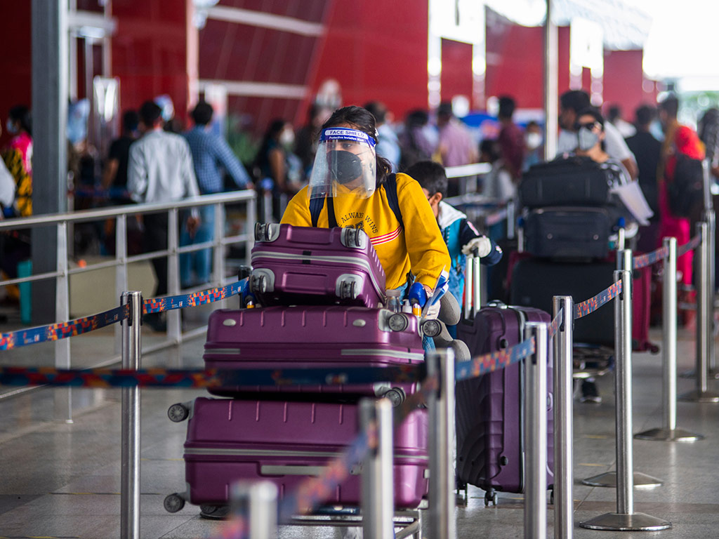 India Puts New Travel Guidelines in Place as 2 More COVID-19 Strains Surface