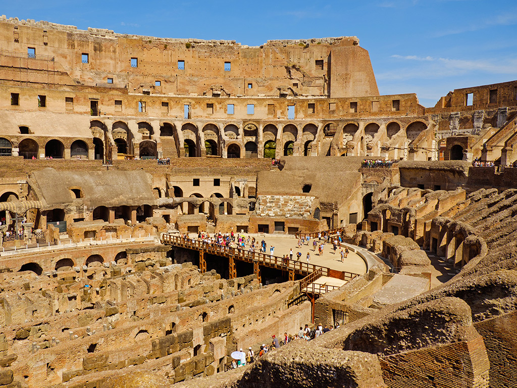 The Colosseum Opens Its Underground Tunnels to Tourists 1