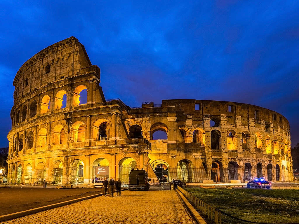 The Colosseum Opens Its Underground Tunnels to Tourists
