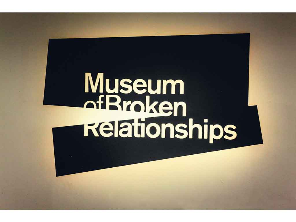 Museum of Broken Relationship Zagreb