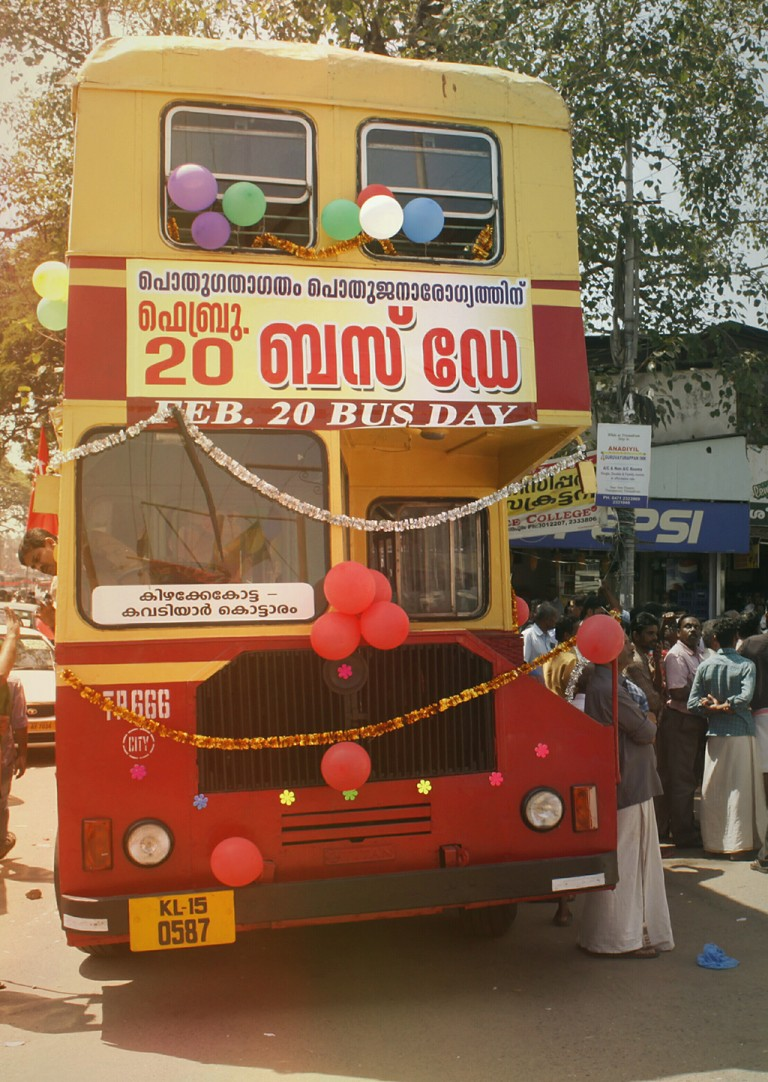 Bus day, Kerala