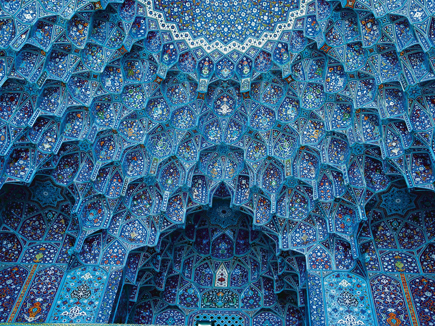 Isfahan's spectacular Masjed-e Imam is an enduring masterpiece of Persian architecture, distinguished by its seven-coloured mosaic work. An image of the mosque appears on the country's 20,000 rial note. Photo: Ayreej Rahiman