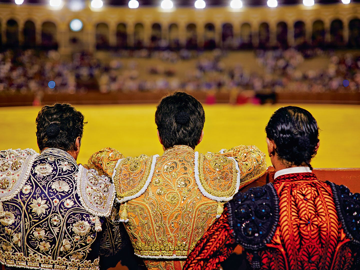 Bullfighting isn't a sport, but an art and a spectacle. Photo: John Kernick