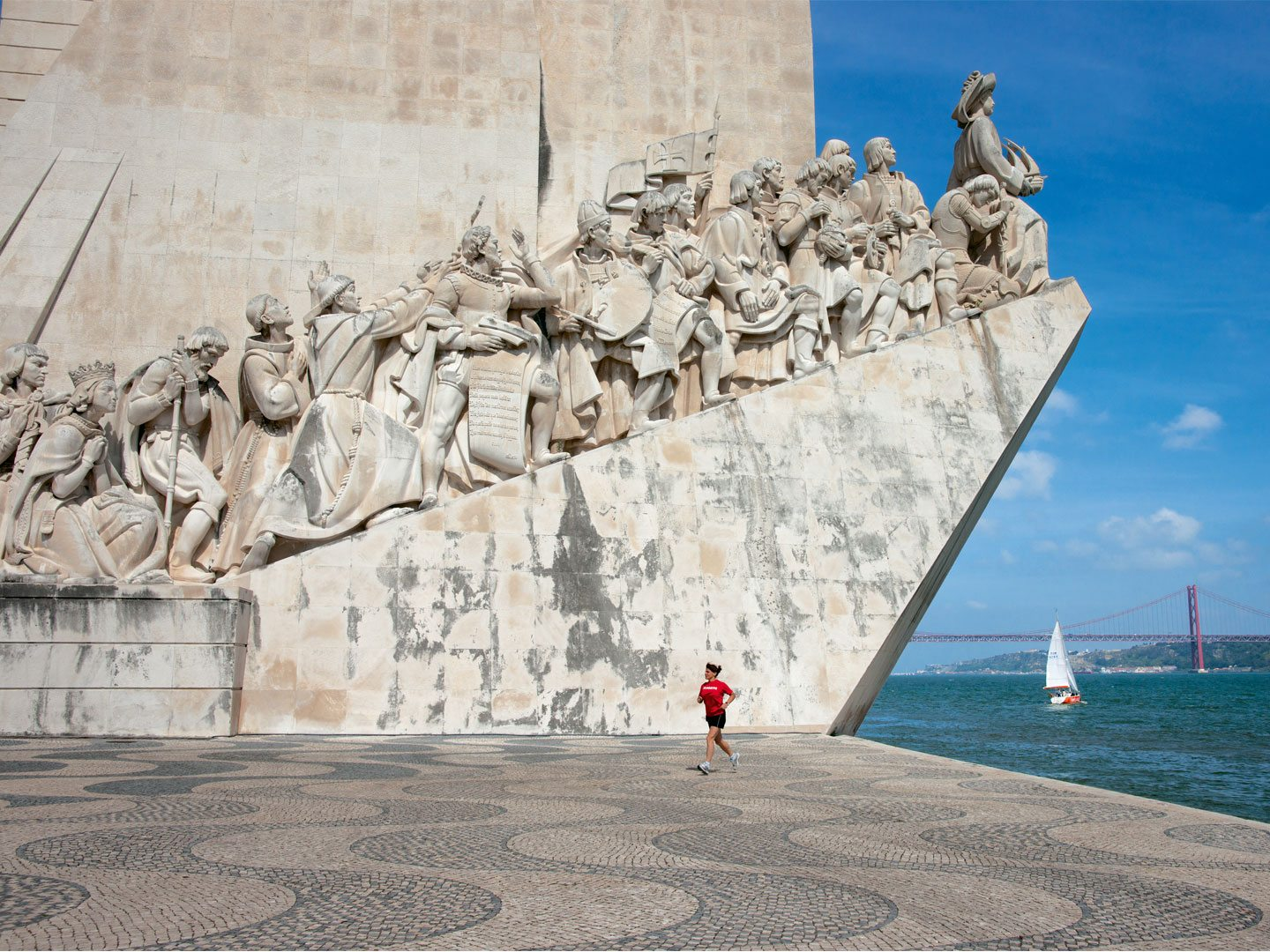 Lisbon pays tribute to Portugal's role in the age of exploration at Belém's Padrão dos Descobrimentos. Photo: Massimo Bassano