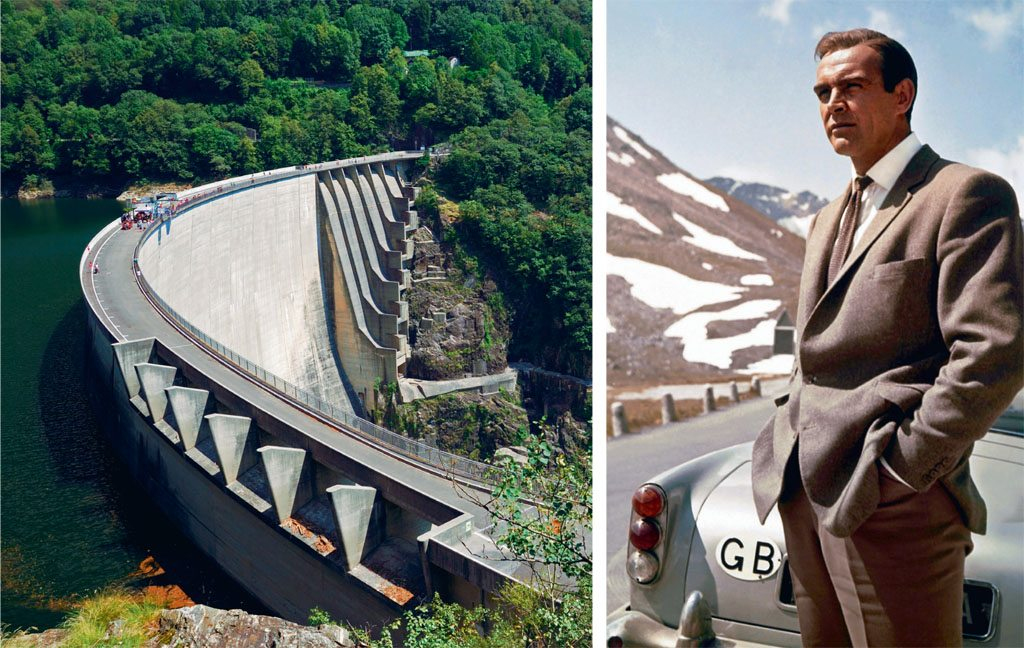 James Bond Contra Dam Ticino Sean Connery
